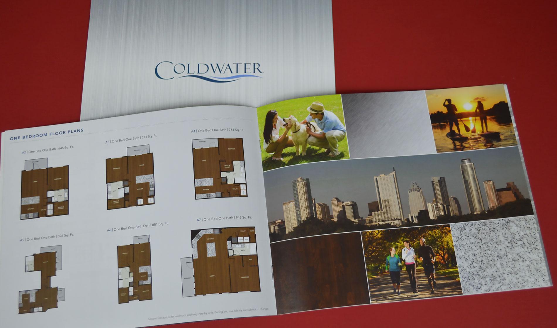 Coldwater brochure design