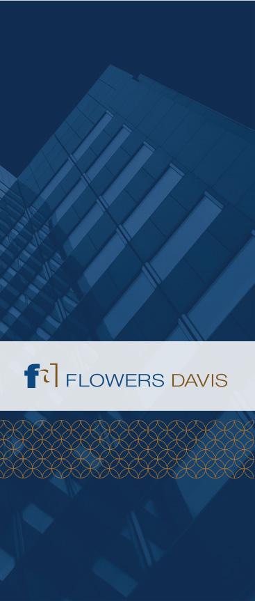 Flowers Davis Brochure