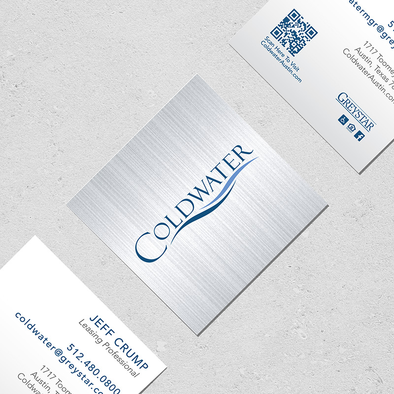 coldwater business card